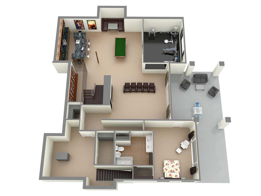 Home Automation 3D Model (1)